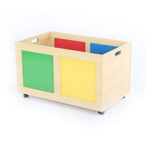 Tot Tutors Primary Focus Rolling Toy Box $20.54
