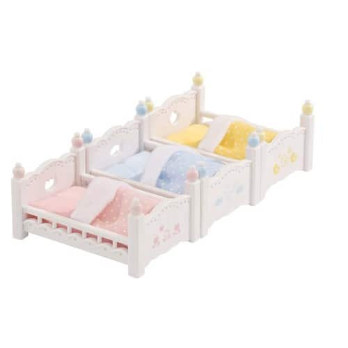 Calico Critters Triple Baby Bunk Beds $5.97