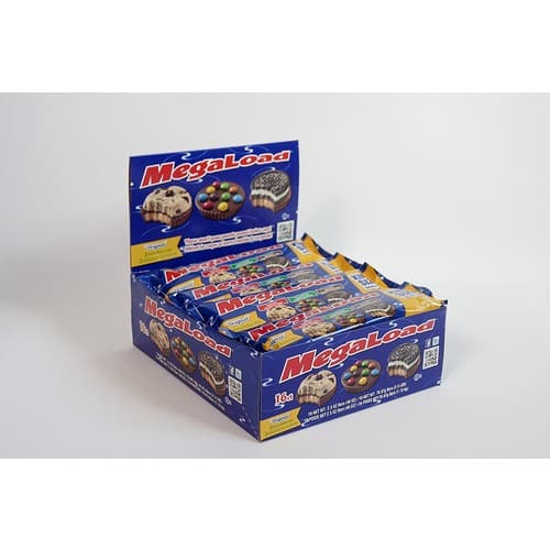 """Megaload Chocolate """"Original Flavor Variety"""" Peanut Butter Cups - 16 Pack Box - 3 Uniquely Topped Cups Per Pack [Original] $22.37"""