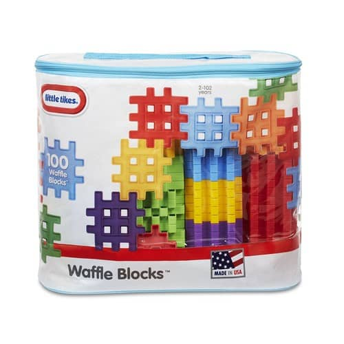 Little Tikes Waffle Blocks Bag (100 Piece) $13.97