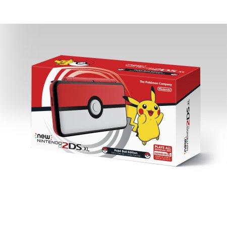 Nintendo 2DS XL - Poke Ball Edition $80 YMMV Walmart
