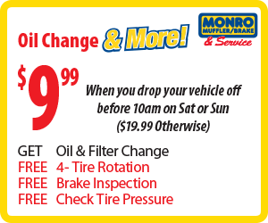 Monro Oil Change Coupon >> Monro Oil Change 9 99 Basic Plus Applicable Fees