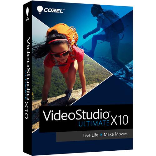 Corel VideoStudio Ultimate X10 - Box pack - 1 user - DVD (mini-box) - Win - Multi-Lingual $49