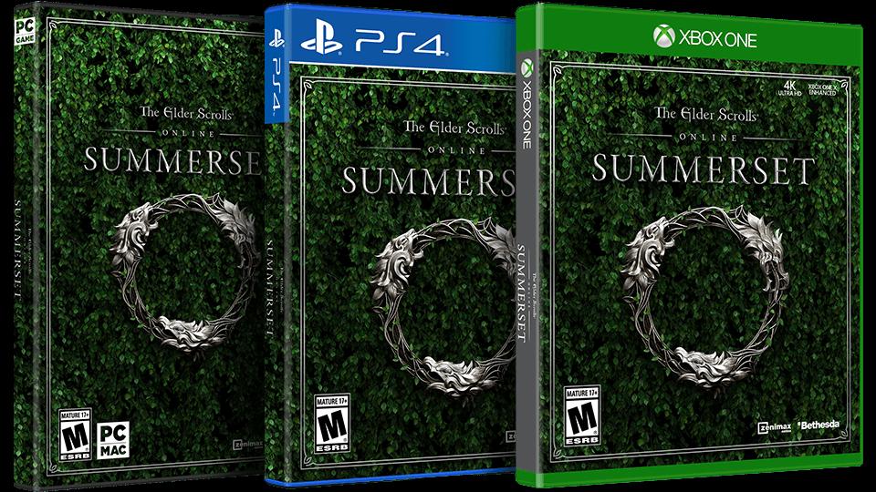 Elder Scrolls Online: Summerset (Pre-Purchase) (PC/Mac/PS4/Xbox