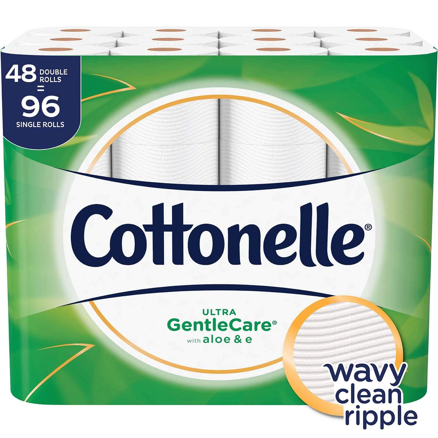 $16 for Cottonelle Ultra GentleCare Toilet Paper, 48 Double Rolls