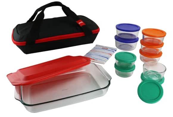 Pyrex 22 pc for $10