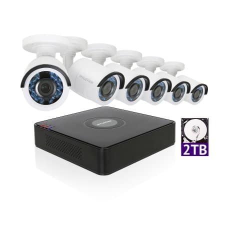 50% Off LaView 1080P HD 6 Security Cameras 8CH Home Video Security Camera System w/ 2TB HDD 2MP Night View Cameras CCTV Surveillance Kit $276