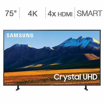 "Costco Members - $979.99 Samsung 75"" RU9000 Series TV + $65 Allstate Protection Plan Bundle"