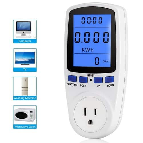 Electricity Usage Monitor + Free Water TDS Meter $18.99