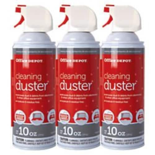 Office Depot Cleaning Duster, 10 Oz., Pack Of 3 $5.89