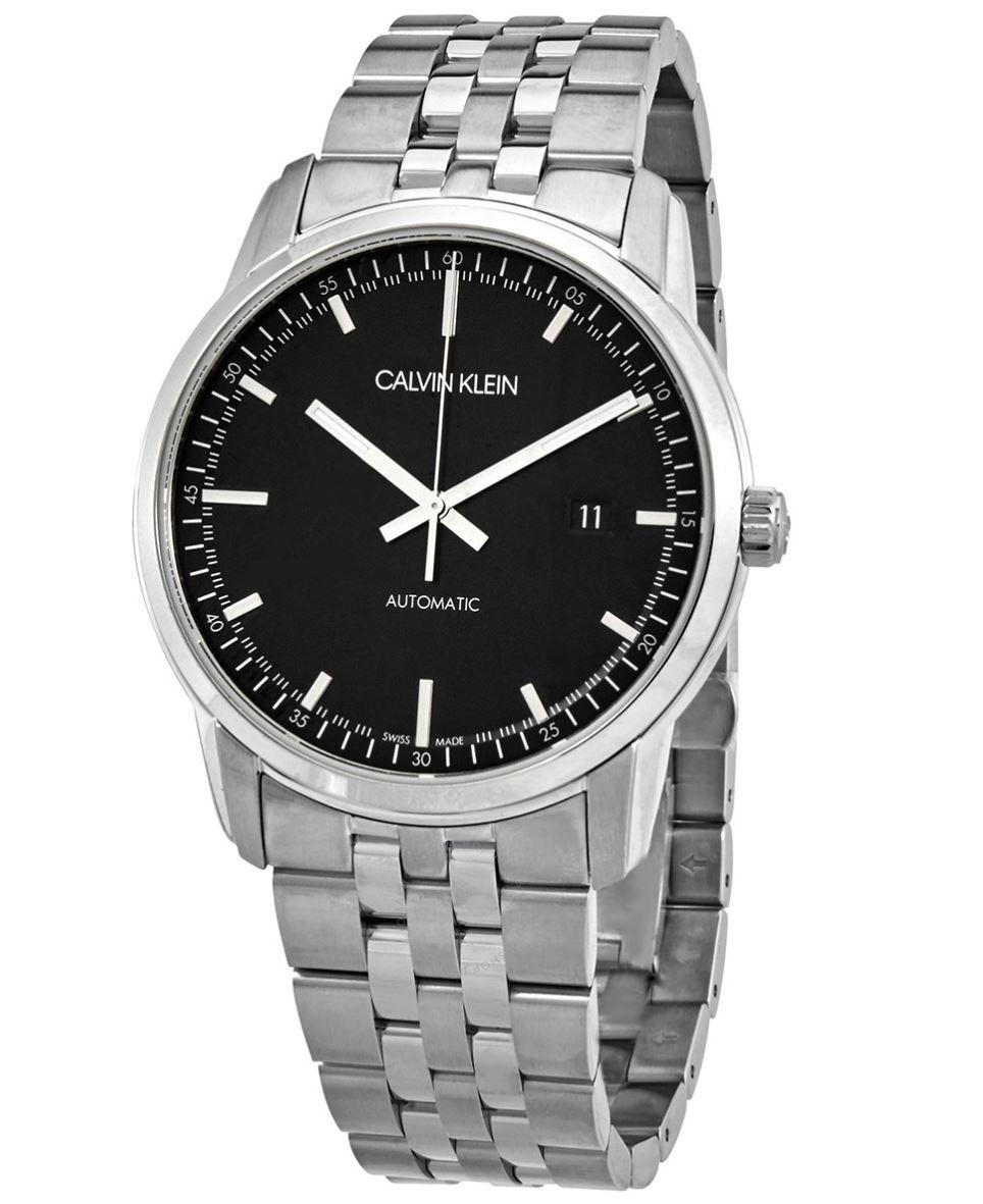 Calvin Klein Infinite Automatic Black Dial Men's Watch $99.99