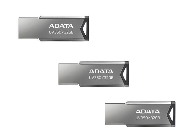 3 x ADATA 32GB UV350 USB 3.2 Flash Drives $11.99