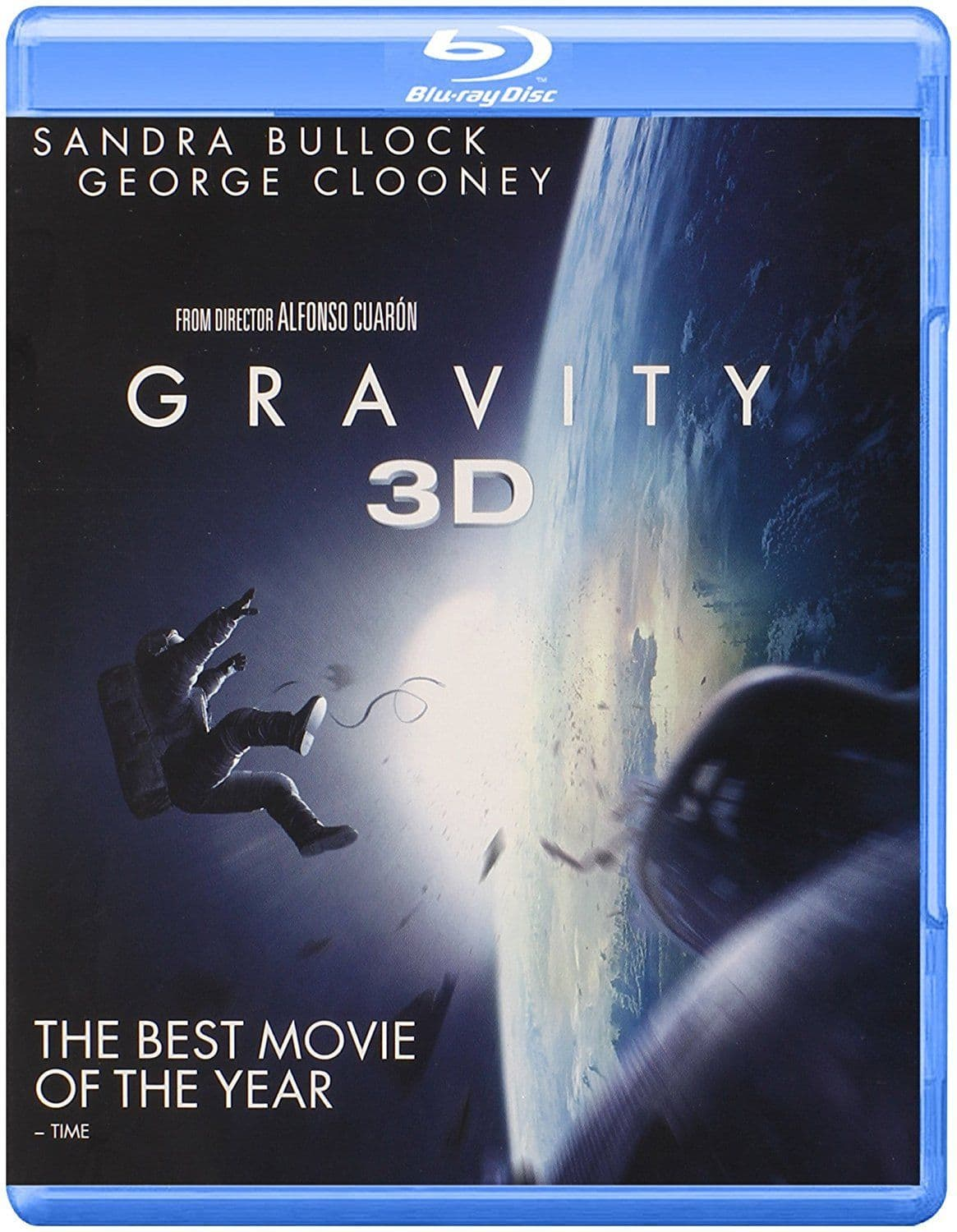 Gravity Blu Ray 3D limited quantity free shipping $13.96
