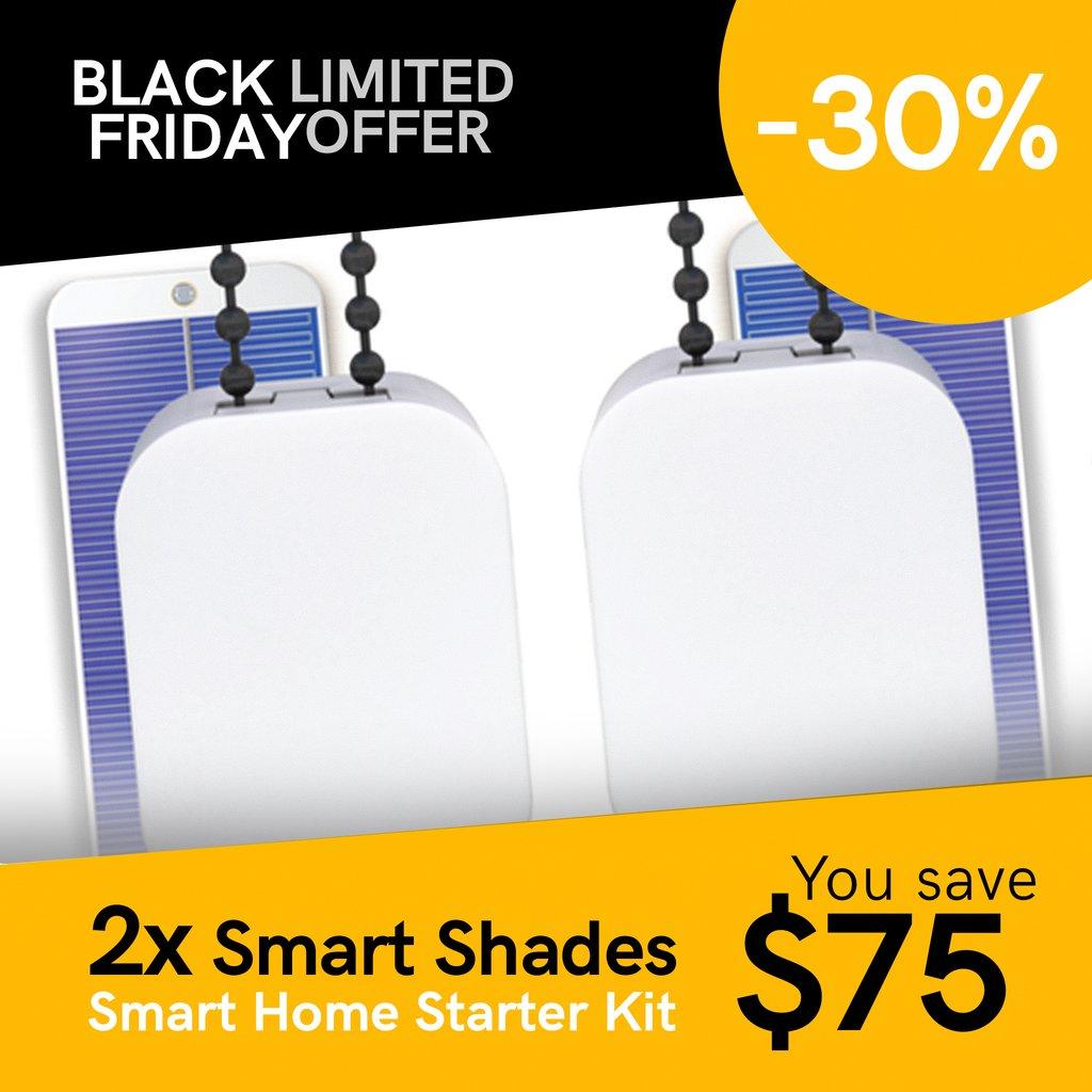 2x SOMA Smart Shades, Motorize Your WIndow Shades, -35%, $183