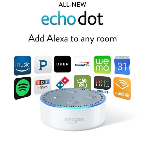 Echo Dot (2nd Generation) - White $29.99