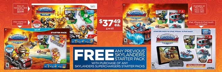 Skylanders Superchargers Figures & Vehicles - Buy 1, Get 1 Free at GameStop.com