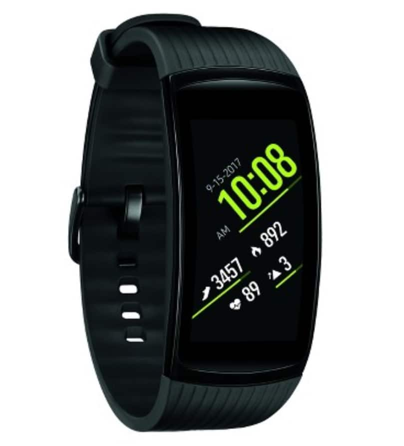 Gear Fit2 Pro Fitness Band (SMALL, Black) $133.99