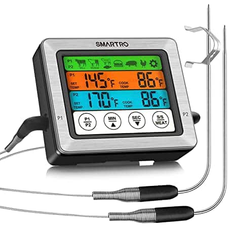 SMARTRO ST54 Dual Probe Digital Meat Thermometer $19.99 at Amazon