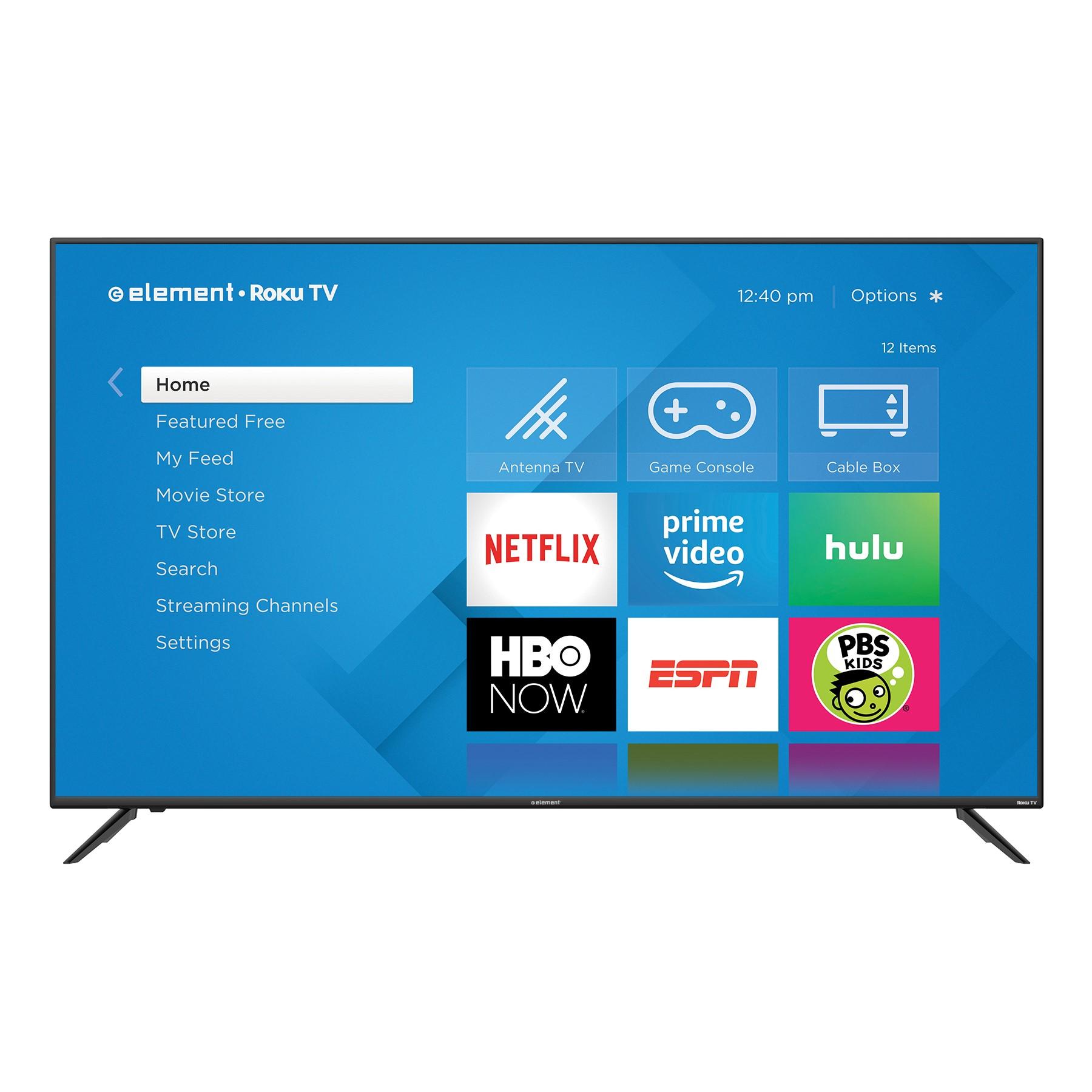 "$499.99  ELEMENT 70"" Class 4K (2160P) UHD ROKU Smart LED TV (E4SW7019RKU)"