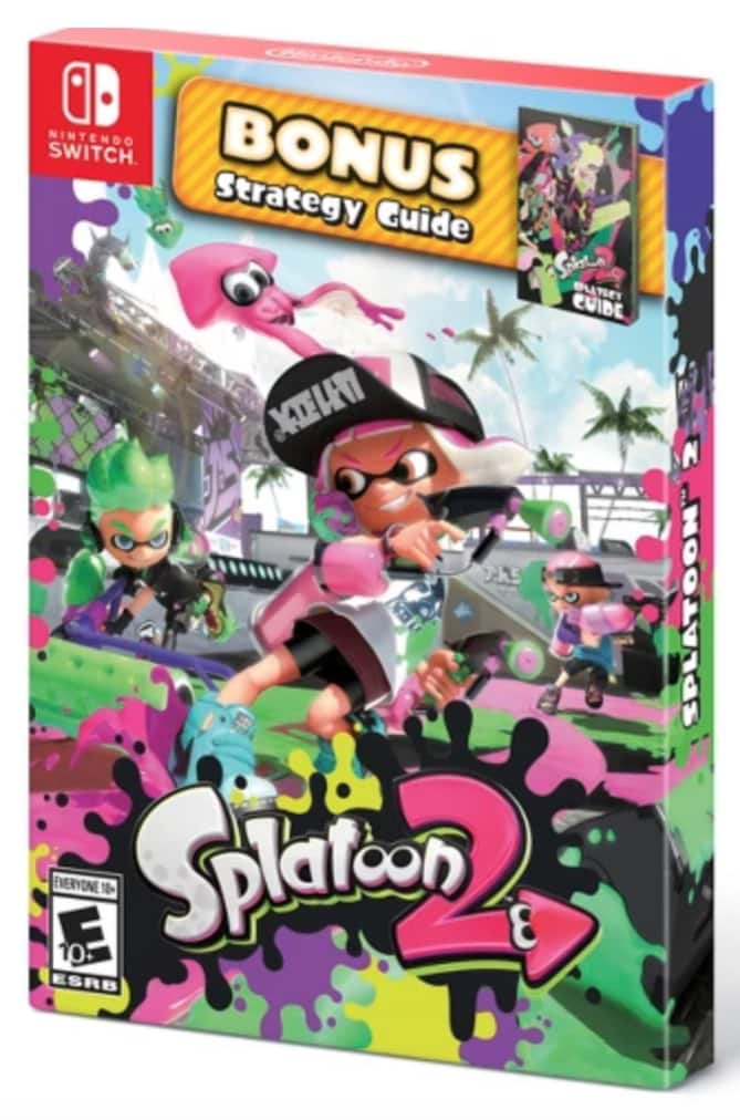 Splatoon 2 with Bonus Splategy Guide - Nintendo Switch $45.49 or $43.22 with Red Card