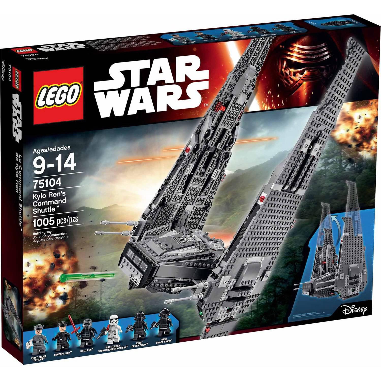 LEGO Star Wars Kylo Ren's Command Shuttle 75104 - $59.00 YMMV B&M