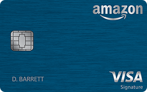 Amazon Rewards Visa Signature Card: $50 Amazon.com Gift Card + 3% back on amazon.com purchases + 2% back at Restaurants and Gas stations + 1% back on all other purchases