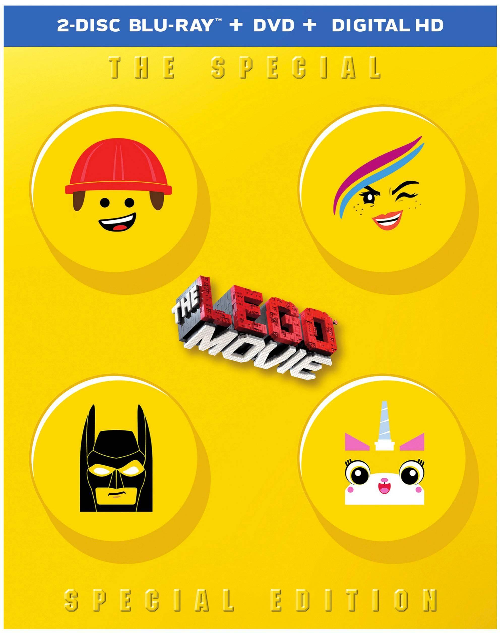 The Lego Movie (Blu-ray + DVD + Digital HD) $6 @ Target