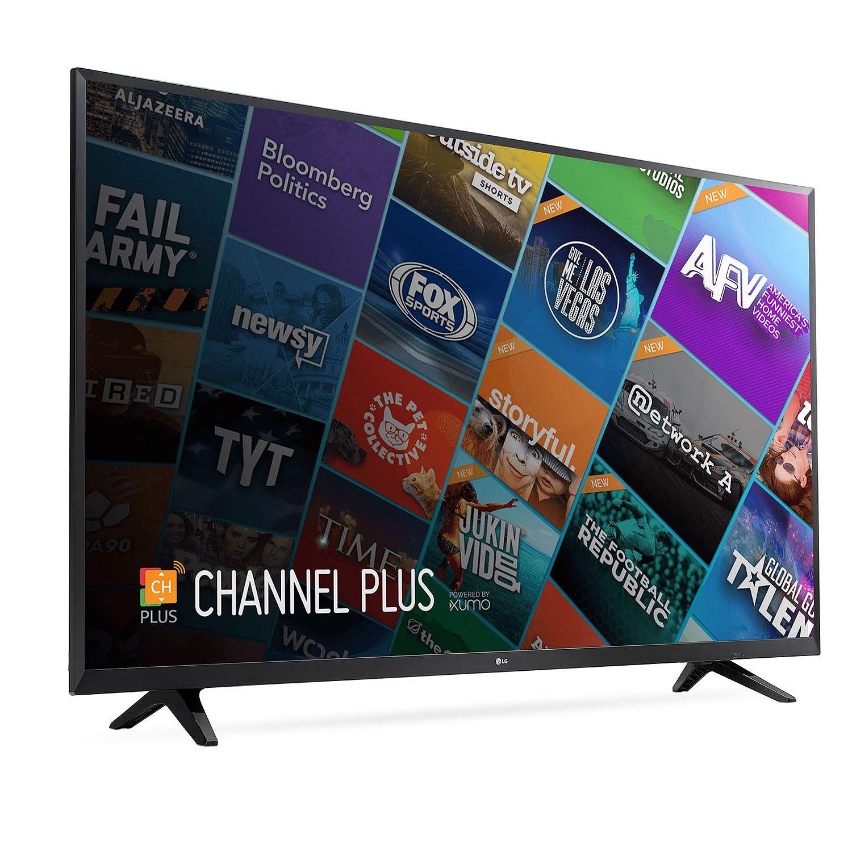 "Refurbished LG 55"" Class 4K (2160P) Smart LED TV (55UJ6200) $339.99"