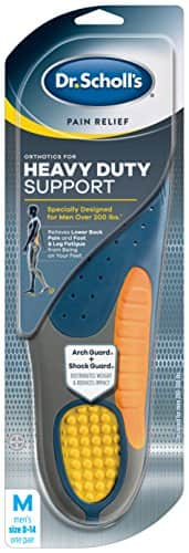 Dr. Scholl's Men's Pain Relief Orthotics for Heavy Duty Support Insoles $9.97