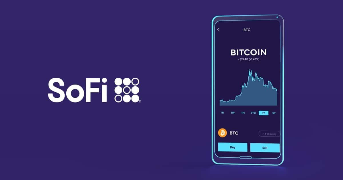 SoFi Invest - Get 1% match on Crypto purchases—Ends 10/31