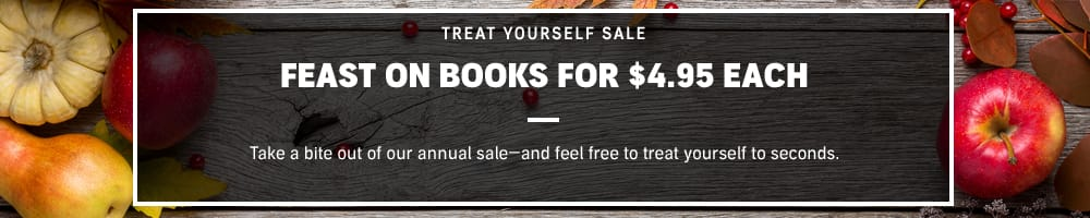 """Audible """"treat yourself"""" sale over 400 audiobooks at $4.95 each (members and non-members)"""