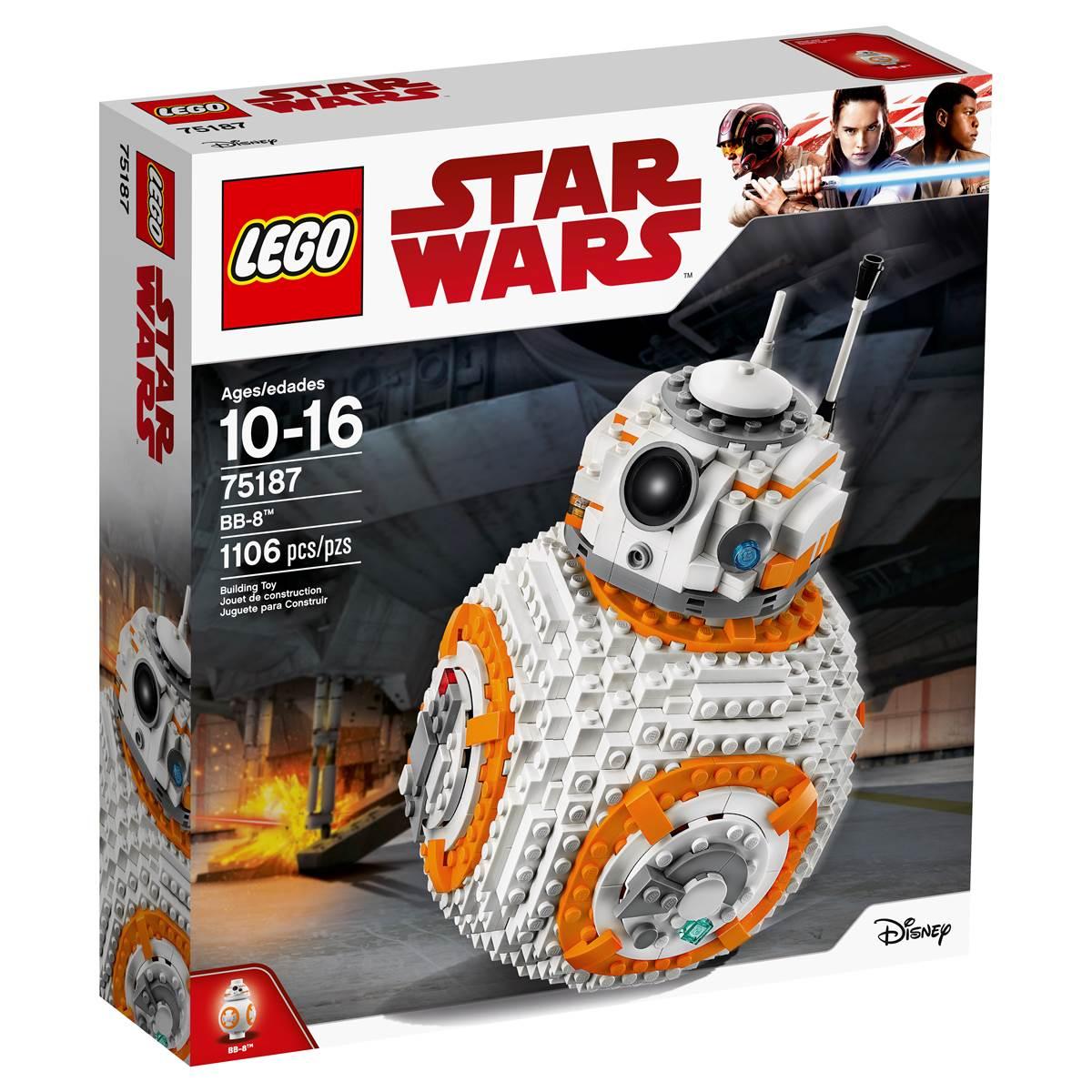 Alive Again: $69.99 LEGO 75187 Star Wars The Last Jedi BB-8 Droid