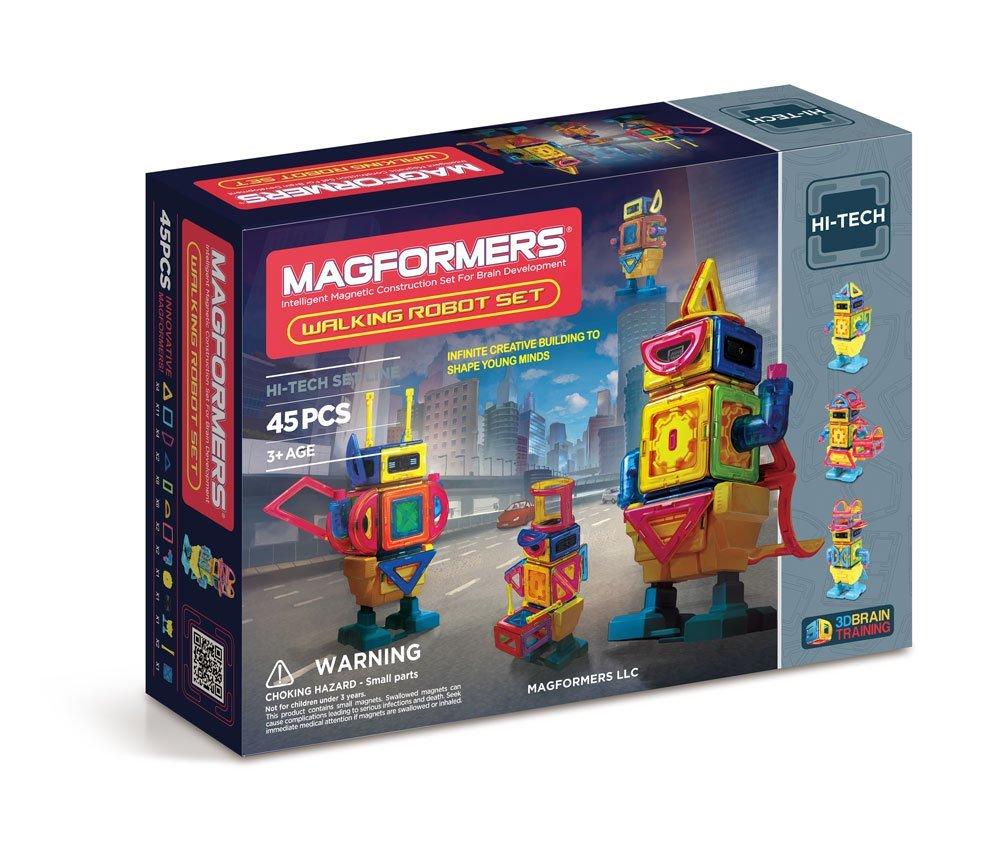 Magformers Hi-Tech Walking Robot Set (45-pieces) - $50.26 @ Amazon