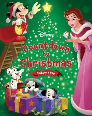 2 disney hardcover books on sale disney countdown to christmas a story a day - Disney Christmas Storybook Collection