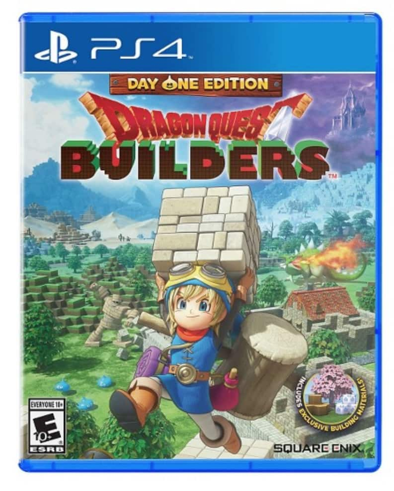 PS4 Dragon Quest Builders $14.99 at Target $14.97