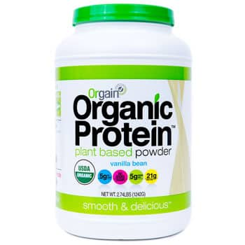 Orgain Organic Protein Powder - 2.74 lbs (Costco Members Only $24)