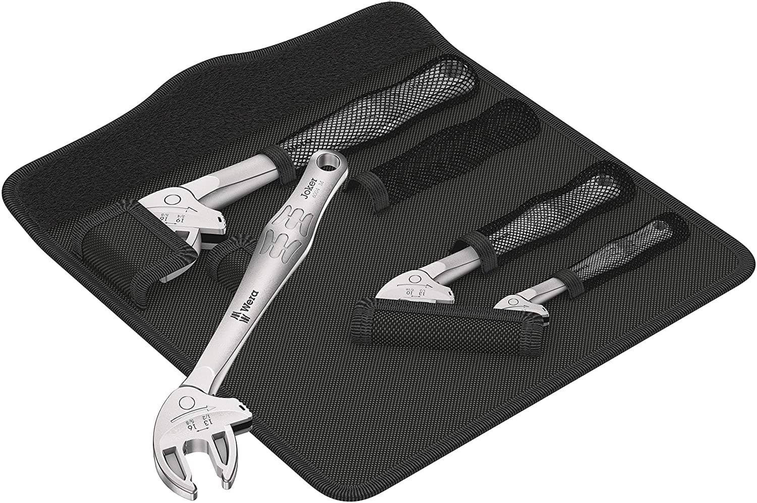 Wera 05020110001 6004 Joker 4 Set 1 self-Setting Spanner Set, 4 Pieces: Amazon.com: Industrial & Scientific $143.67