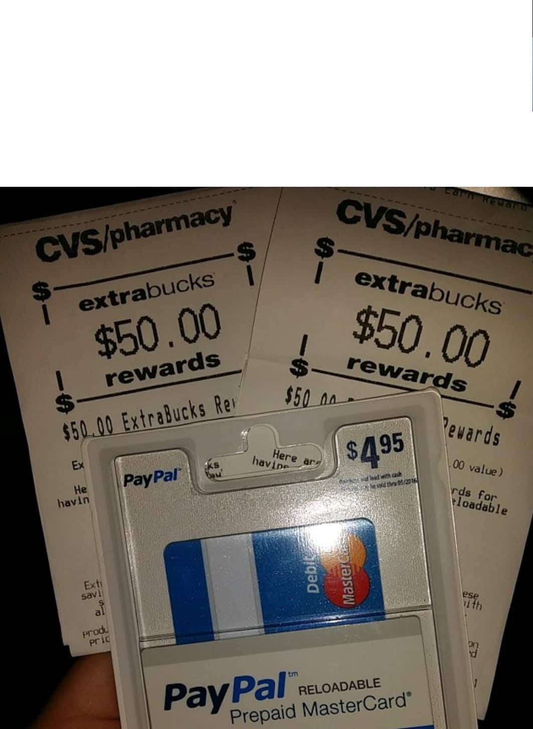 prepaid gift card deal at cvs mm ymmv