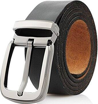 Marino Mens Belt, One Piece Leather Strap with Removable Buckle For $10.50 A/C FS