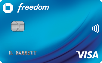 Chase Freedom 5% Q4 categories - PayPal, Department stores, Chase Pay