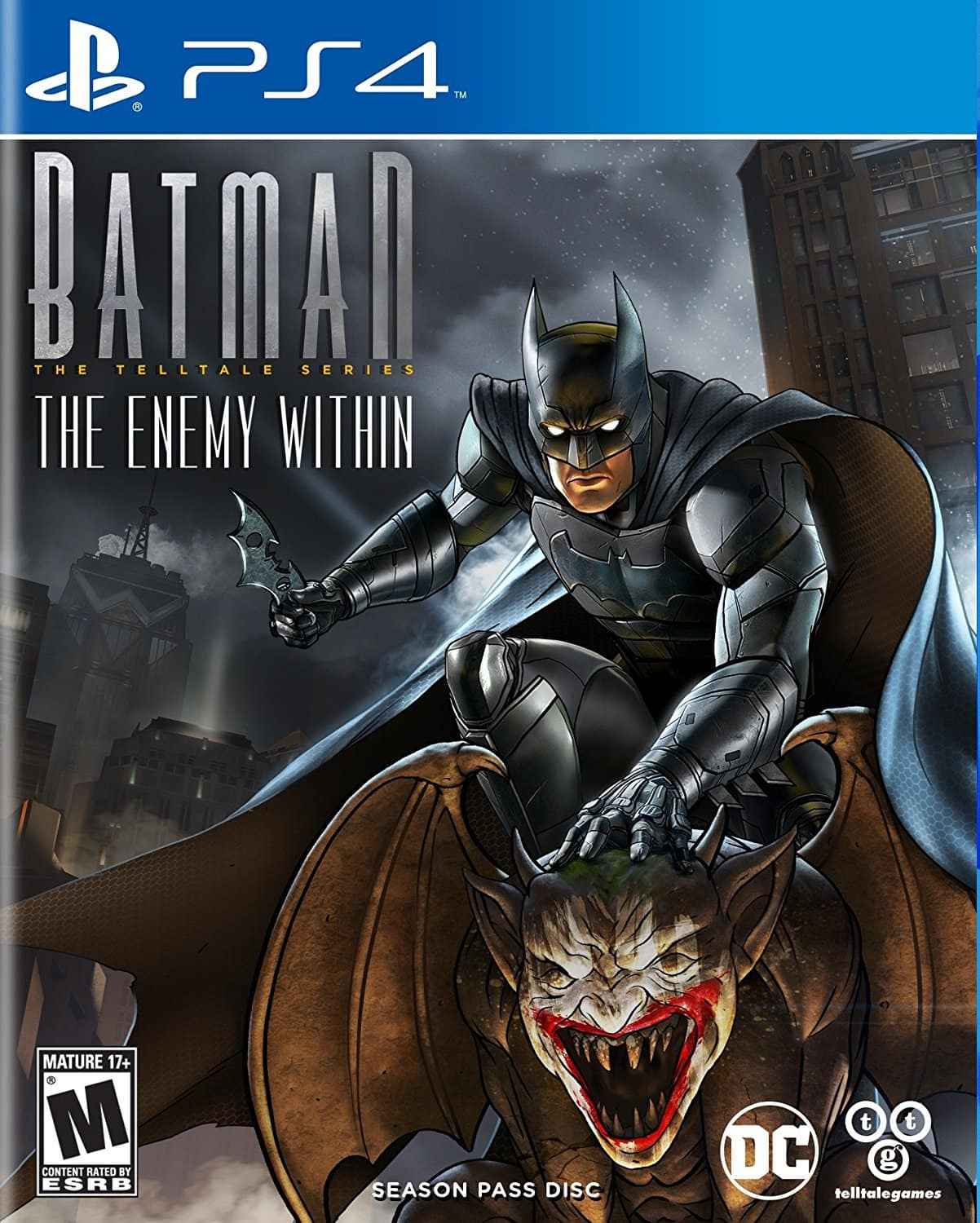 Batman: The Enemy Within - PS4 XBox One  $19.99 Prime free ship