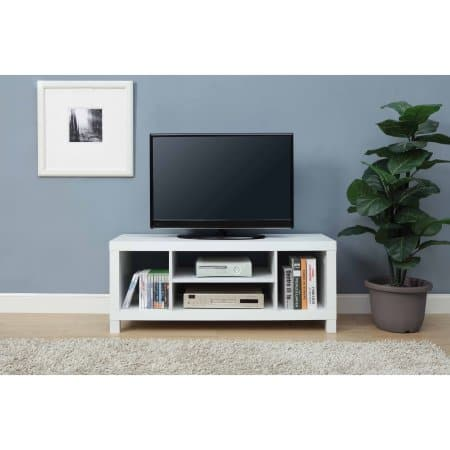 Mainstays TV Stand, White, Only $19.99