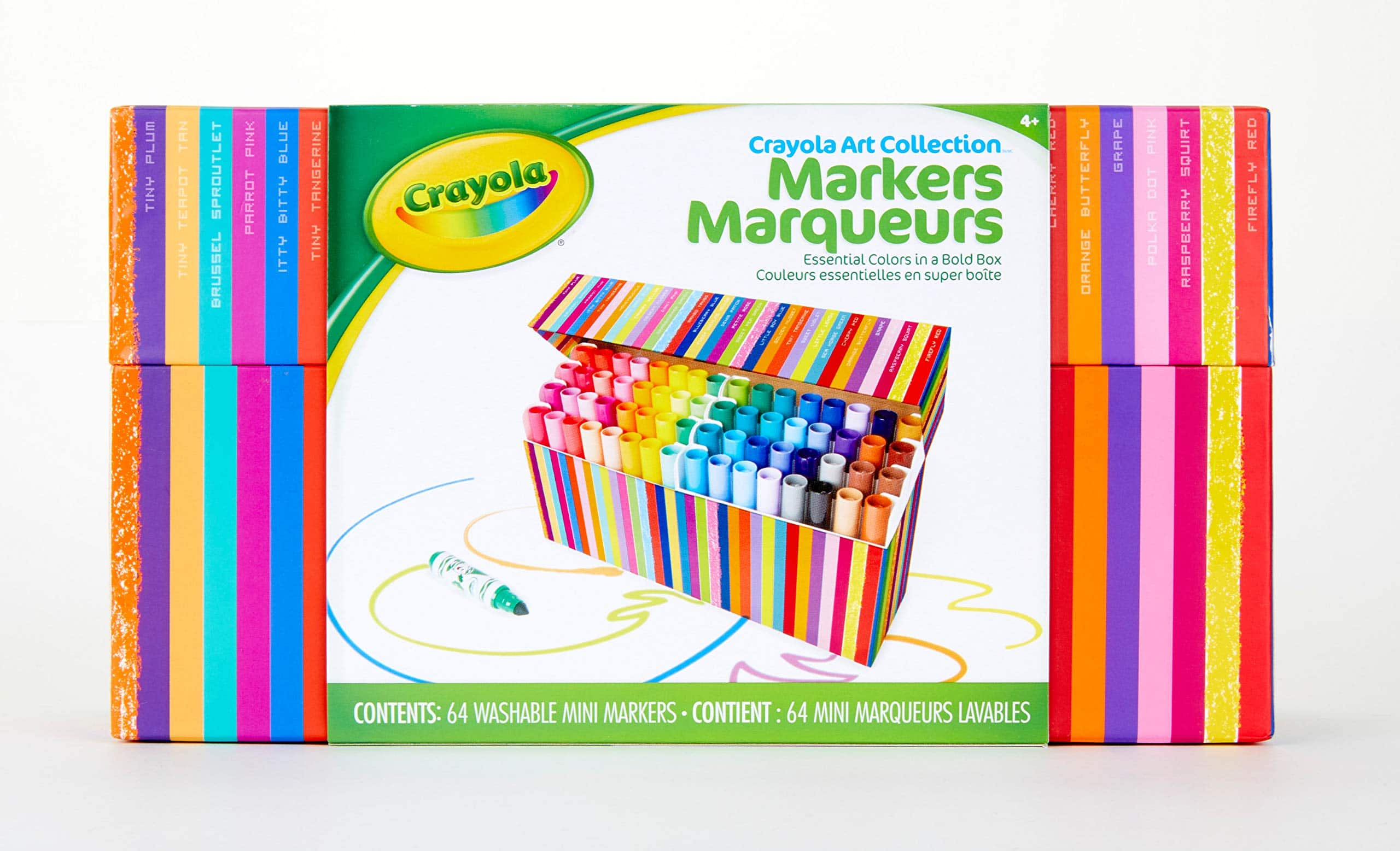 Crayola Pip Squeaks Marker Set, Washable Mini Markers, 64 Count, Gift for Kids - $10 at Amazon