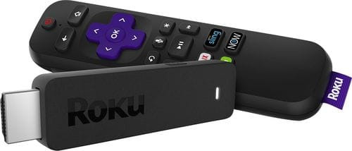 Roku Streaming Stick with Voice Remote with TV Power and Volume Black 3800R - Best Buy $30