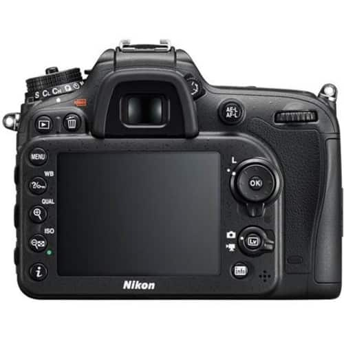 Nikon D7200 DSLR Body - Black - Refurbished by Nikon U.S.A. -$550