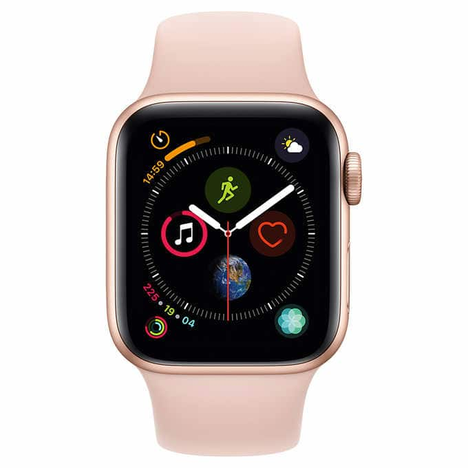 Apple Watch Series 4 GPS with Pink Sand Sport Band - 40mm - $330 $329.97