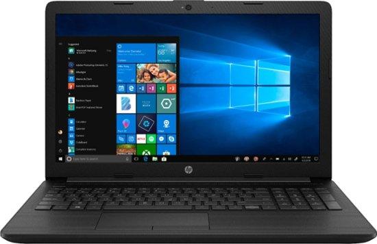 """HP 15.6"""" Laptop AMD A6-Series 4GB Memory AMD Radeon R4 1TB Hard Drive Jet Black, Maglia Pattern 15-DB0015DX - Best Buy $220"""