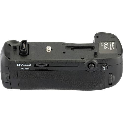 Vello BG-N19 Battery Grip for Nikon D850 $50 (Battery grips)
