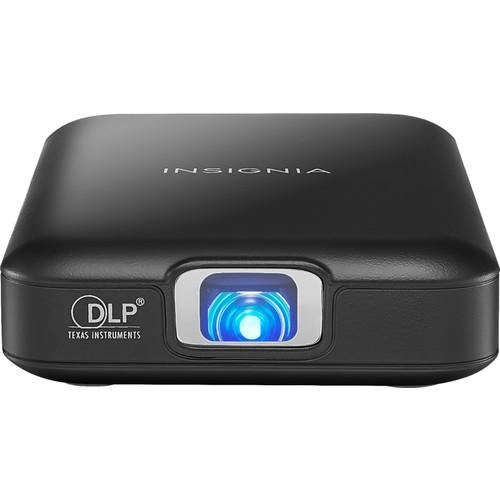 Insignia™ Slim-line Pico WVGA DLP Projector Black NS-PR60 - Best Buy $150