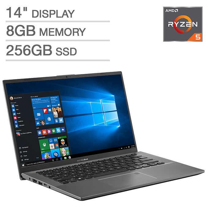 """ASUS VivoBook Flip F412DA 14"""" Laptop - AMD Ryzen 5 -Costco Online $450"""